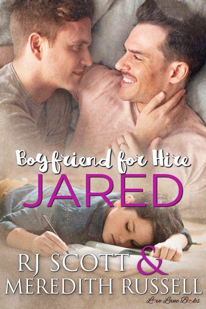 Jared Boyfriend for hire MMRomance Meredith Russell RJ Scott